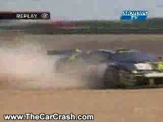 Auto Racing Airplane Crash on Fia Gt Lamborghini Auto Accident   The Car Crash  Video Clips  Videos