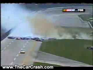 Auto Racing Airplane Crash on Crash   The Car Crash  Video Clips  Videos And Clips Of Car Crashes