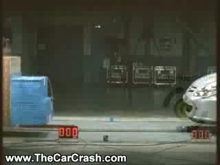 Auto Racing Airplane Crash on Peugeot 307 Cabriolet Auto Test   The Car Crash  Video Clips  Videos